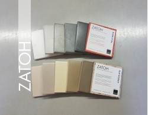 Carta de Colores ZATOH  12 colores/9x9 cm