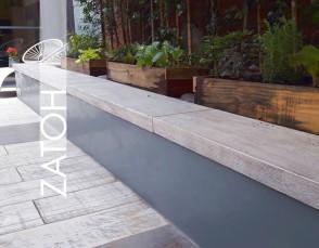 ZATOH Borde Wood - 120x30x6 cm