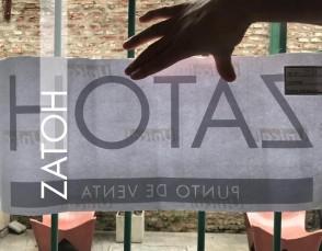 Etiqueta Vidriera ZATOH PDV 50x25 cm