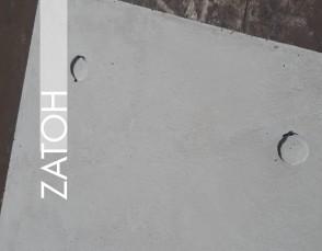 Placa ZATOH | Hormigón visto RUSTIC 6 AG